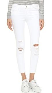 Укороченные джинсы-скинни J Brand