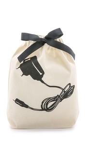 Маленькая сумка-органайзер с изображением зарядного устройства Bag All