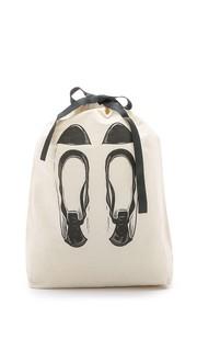 Сумка-органайзер с изображением балеток Bag All