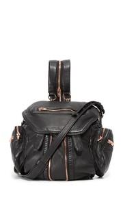 Миниатюрный рюкзак Marti с фурнитурой цвета розового золота Alexander Wang