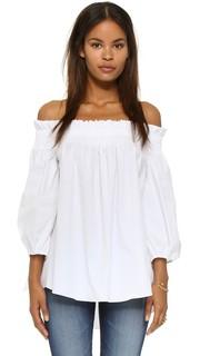 Блуза Lou с открытыми плечами Caroline Constas