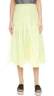 Плиссированная юбка Isa Tibi