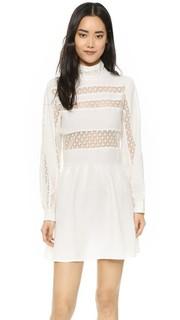 Платье с кружевными вставками Anine Bing