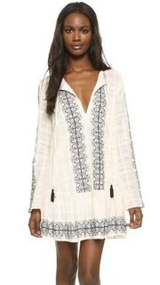 Богемное платье с длинными рукавами Bec & Bridge