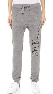 Спортивные брюки с надписью «Tres Bien» Chrldr