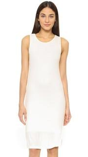 Платье 2x1 из ткани в рубчик Splendid