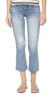 Укороченные расклешенные джинсы Micro Blank Denim