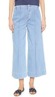 Укороченные джинсы в стиле брюк Karla Goldsign