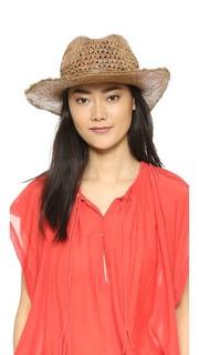 Шляпа из рафии Cane Wave Continental Hat Attack