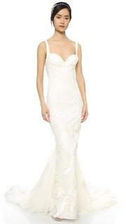 Вечернее платье Geneva со съемными шлейфом Katie May