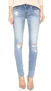 «Рваные» джинсы-скинни Blank Denim