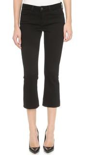 Укороченные расклешенные джинсы Charlotte Lagence