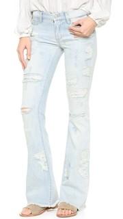 Расклешенные джинсы Blank Denim