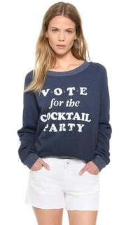 Укороченная толстовка Cocktail Party Wildfox