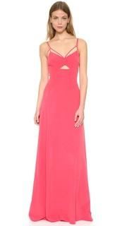 Платье с вырезом Elsa Lagence