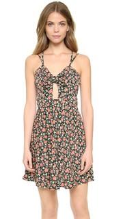 Винтажное мини-платье с цветочным рисунком Glamorous