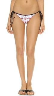 Плавки бикини на завязках Biarritz с принтом в виде фламинго Milly