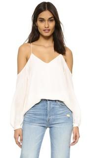 Блуза с открытыми плечами Haute Hippie