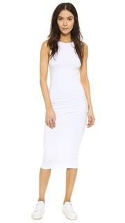 Узкое платье с открытой спиной James Perse