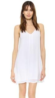 Платье-комбинация из ткани Lanston