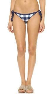 Плавки бикини с завязками Poppy Delevingne Solid & Striped