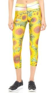 Спортивные леггинсы-капри Sunflower Terez