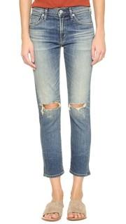 Облегающие укороченный прямые джинсы Agnes Citizens of Humanity