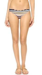 Плавки бикини с зубчатой отделкой Antibes Marysia Swim