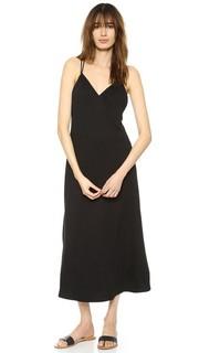 Платье до щиколоток с перекрещенной отделкой на спине Lanston