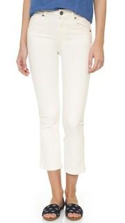Укороченные расклешенные джинсы Colette Paige