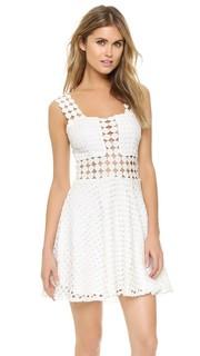 Платье в горошек Summer Endless Rose