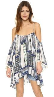 Принтованное пляжное платье Alexi Tt Beach