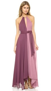 Платье из жатого шифона Jill Jill Stuart