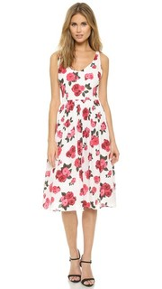 Летнее миди-платье Claudia с принтом в виде роз BB Dakota