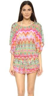 Пляжное платье Sunkissed Laughter South Beach Luli Fama