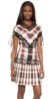 Кружевное платье Rosette Beatrix Wes Gordon