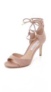 Босоножки на шнуровке Rimini Diane von Furstenberg