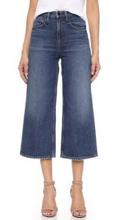 Широкие джинсы Drill с высокой посадкой Denim x Alexander Wang