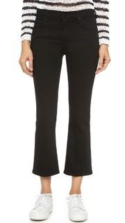 Укороченные эластичные джинсы-буткат Trap Flex