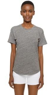 Хлопковая футболка с округлым вырезом Whisper Madewell