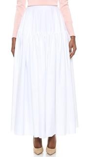 Макси-юбка на кокетке Rochas