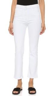 Слегка расклешенные укороченные джинсы The Principle с высокой посадкой 3x1