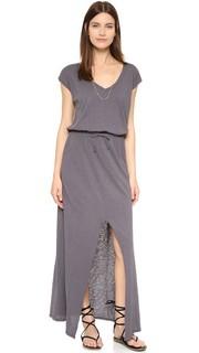 Тонкое макси-платье Razi с завязками Velvet