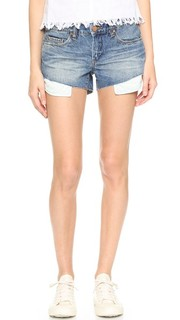 Асимметричные обрезанные шорты Blank Denim