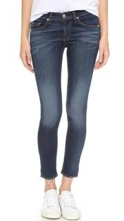 Облегающие джинсы-капри со средней посадкой Rag & Bone/Jean