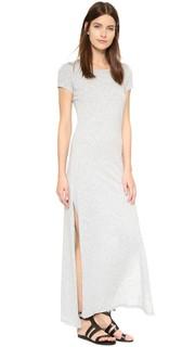 Длинное тонкое платье-футболка Ziggy Velvet