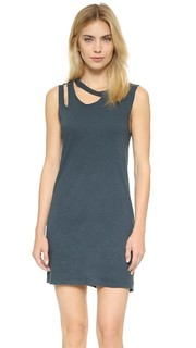 Платье без рукавов Double Cut LNA