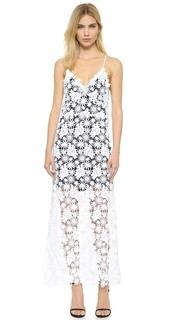 Макси-платье из ажурного кружева The Perfext