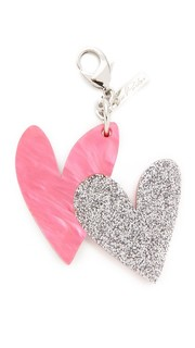 Брелок Heart для ключей Edie Parker