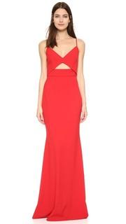 Вечернее платье-бюстье Michelle Mason